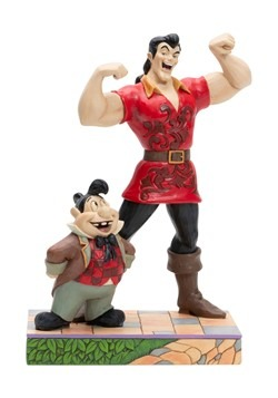 Gaston and Lefou Beauty and the Beast Jim Shore Statue