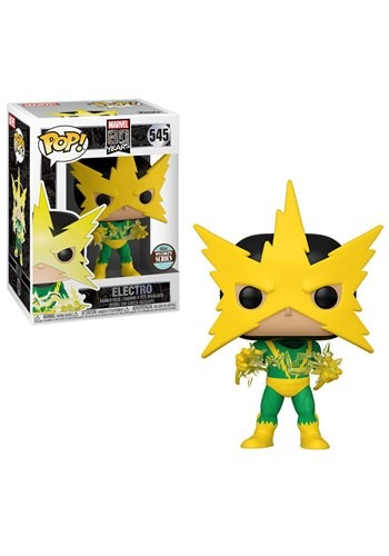 Pop! Marvel: 80th- First Appearance- Electro (Specialty Seri