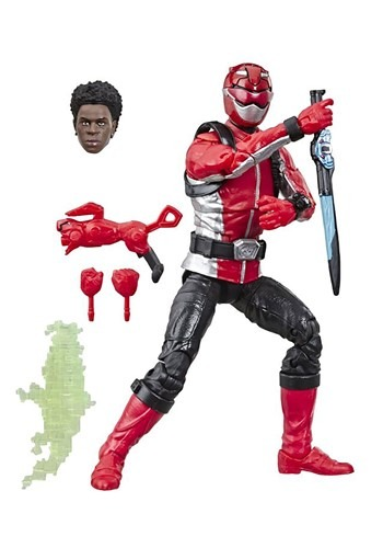 Power Rangers Red Beast Morpher Lightning Collection Figure
