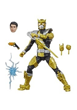 Power Rangers Gold Beast Morpher Lightning Collection Figure