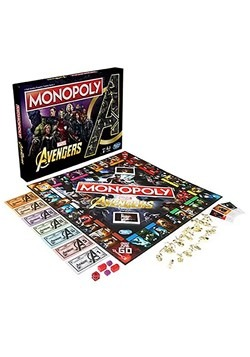 Avengers Endgame Edition Monopoly Game