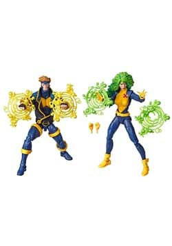 Marvel Legends 90s Havok and Polaris 6 Action Figure 2 Pack