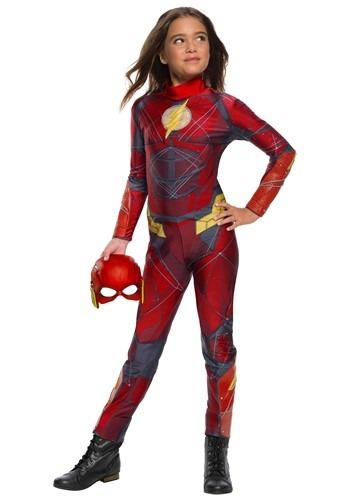 Justice League Flash Girl's Costume