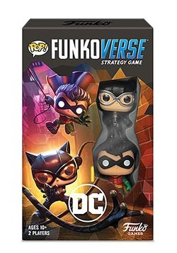 Pop! Funkoverse DC Comics- 101- Expandalone Strategy Game