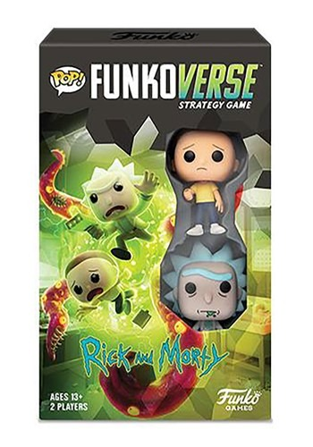 Pop! Funkoverse: Rick and Morty- 100- Expandalone Game