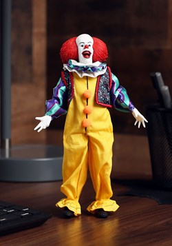 IT Pennywise 1990 8in Clothed Action Figure Update