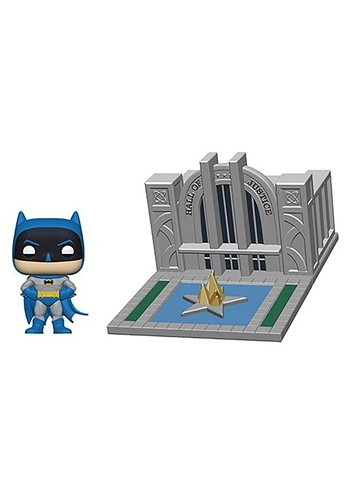 Pop! Town: Batman 80th- Hall of Justice with Batman