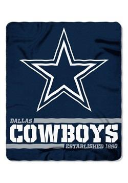 Dallas Cowboys Split Wide Fleece Throw