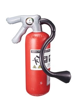 WWE Airnormous Big Bash Prop Fire Extinguisher