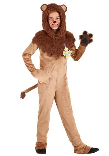 Kid's Wizard of Oz Cowardly Lion Costume