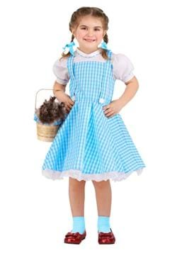 Toddler's Classic Dorothy Wizard of Oz Costume Main Upd