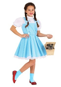 Kid's Classic Dorothy Wizard of Oz Costume