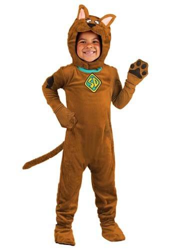 Toddler Deluxe Scooby Doo Costume Update