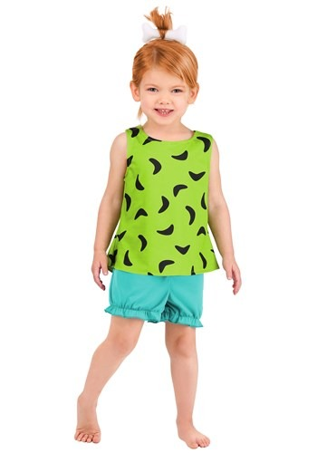 Kid's Classic Flintstones Pebbles Costume
