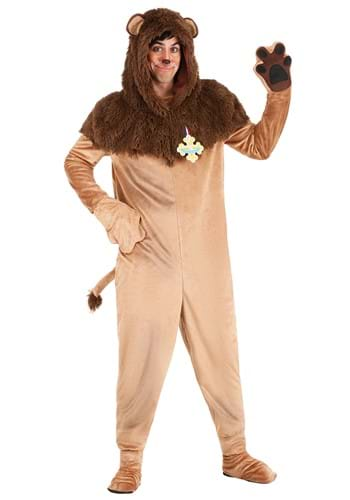 Adult Wizard of Oz Cowardly Lion Costume