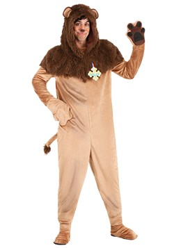 Plus Size Wizard of Oz Cowardly Lion Costume