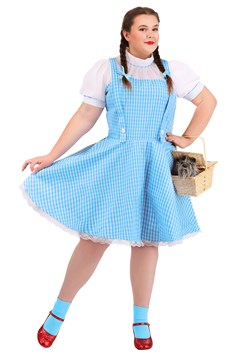 Plus Size Wizard of Oz Dorothy Costume Main