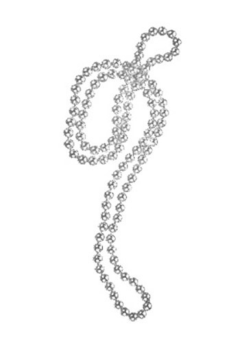 Silver Flapper Necklace