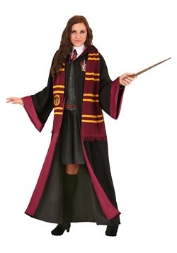 Women's Plus Size Deluxe Harry Potter Hermione Costume