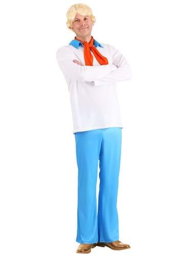 Men's Classic Scooby Doo Fred Costume Update