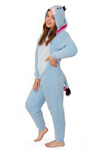 Women's Winnie the Pooh Eeyore Union Suit Costume