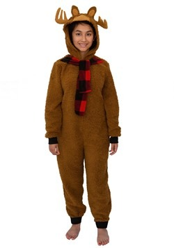 Moose Union Suit Women's Costume
