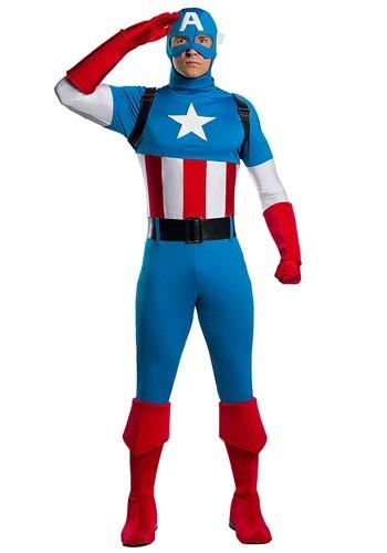 Adult Marvel Captain America Premium Costume