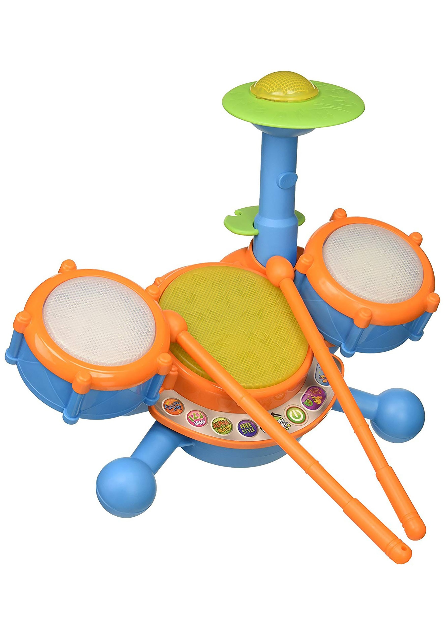 VTech KidiBeats Drum Set for toddlers