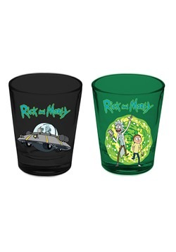 Rick And Morty 2 Pack Shot Glass