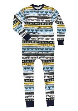 Kids Happy Hanukkah Flapjack Pajamas