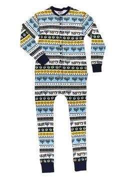 Adult Happy Hanukkah Flapjack Pajamas