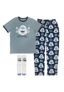 Mens Rudolph the Red-Nosed Reindeer Bumble Loungewear Set