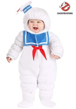 Infant Ghostbusters Stay Puft Onesie Costume