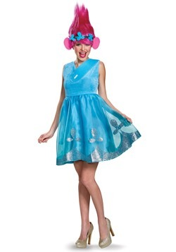Trolls Women's Deluxe Poppy Costume