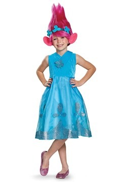 Trolls Poppy Deluxe Girl's Costume