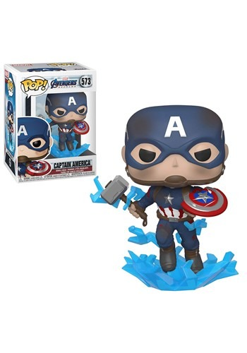 Pop! Marvel: Endgame- Captain America w/ Broken Shield