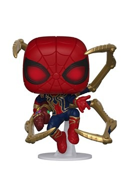 Pop Marvel Endgame Iron Spider w Nano Gauntlet alt1