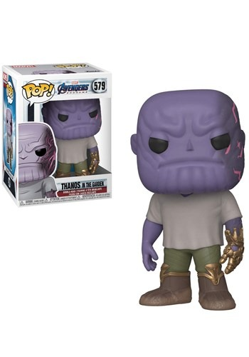 Pop! Marvel: Endgame - Casual Thanos w/ Gauntlet upd