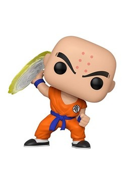 Pop! Animation: Dragon Ball Z- Krillin w/ Destructo Disc