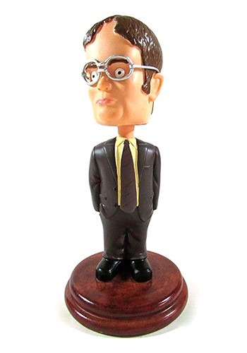 The Office 7 Inch Dwight Bobblehead Figure