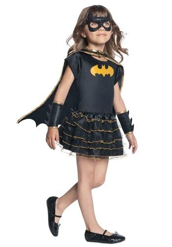 Girls Toddler Batgirl Dressup Caped Dress