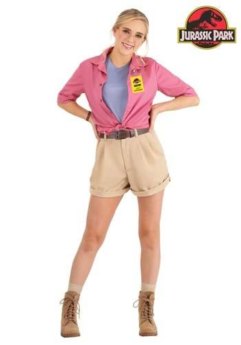 Women's Jurassic Park Dr. Ellie Sattler Costume Main UPD
