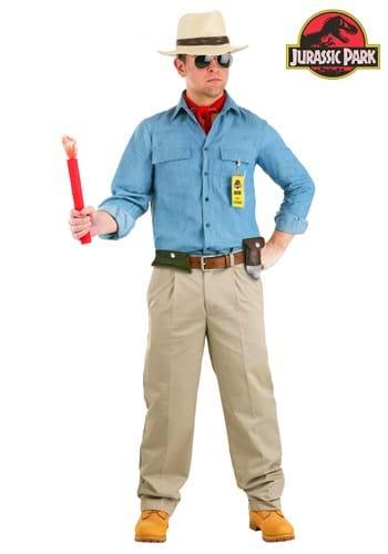Men's Jurassic Park Dr. Grant Costume Main