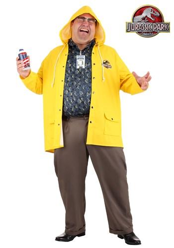 Men's Jurassic Park Dennis Nedry Plus Size Costume