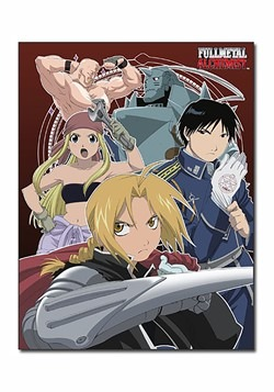 Full Metal Alchemist Sublimation Throw Blanket