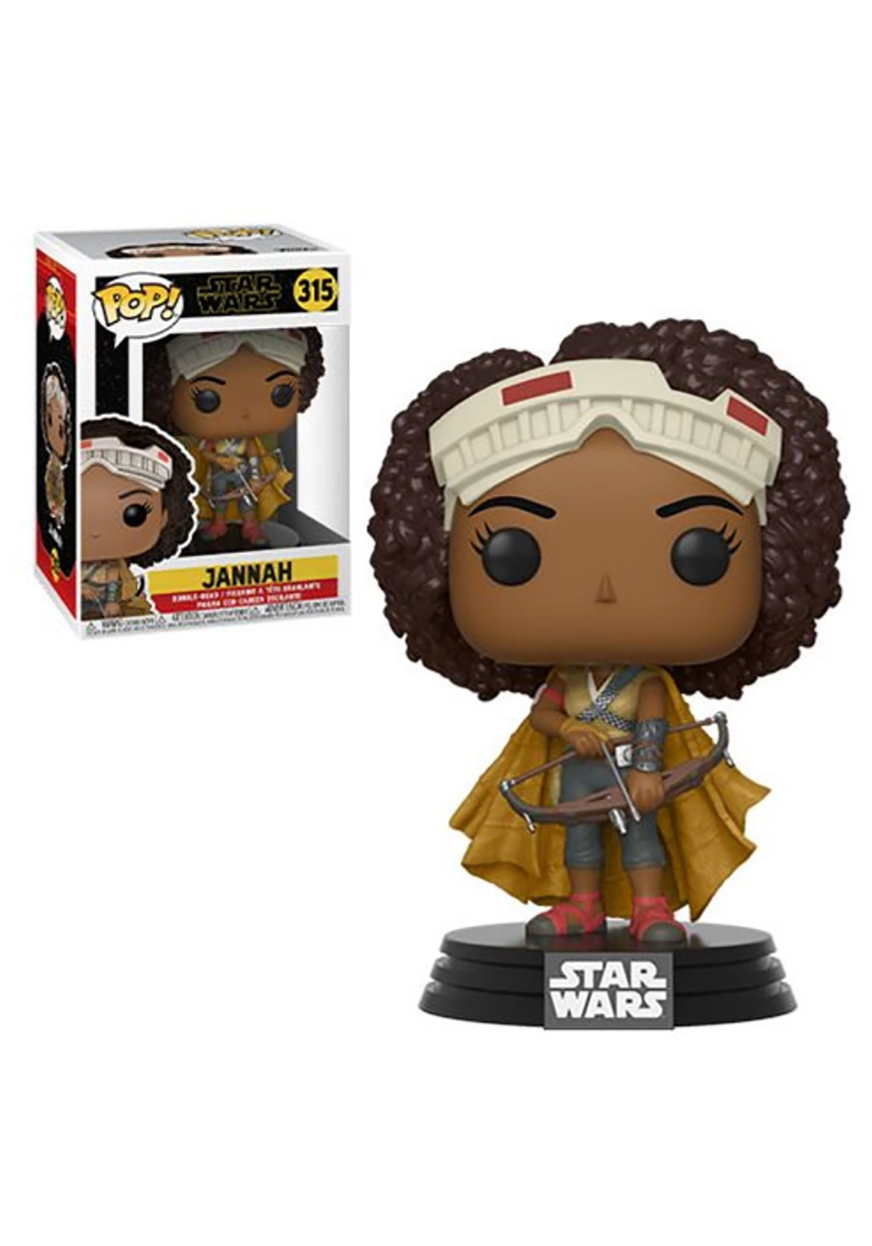 Jannah Pop Star Wars The Rise Of Skywalker Bobblehead Figure