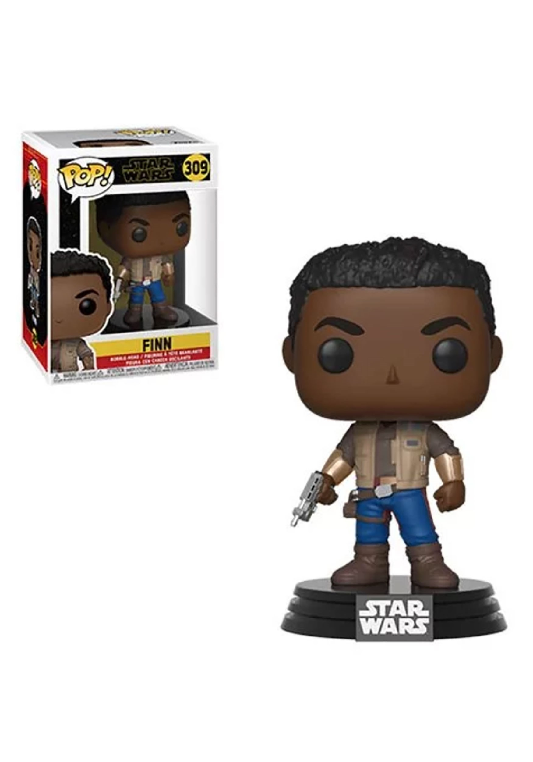 Finn Pop Star Wars The Rise Of Skywalker Bobblehead Figure