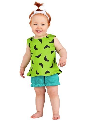 Classic Flintstones Pebbles Infant Costume