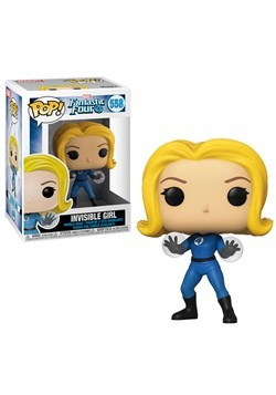 Pop! Marvel: Fantastic Four- Invisible Girl Update2