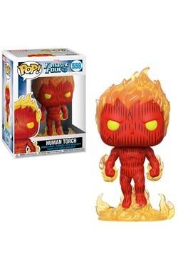 Pop! Marvel: Fantastic Four- Human Tourch Update update2